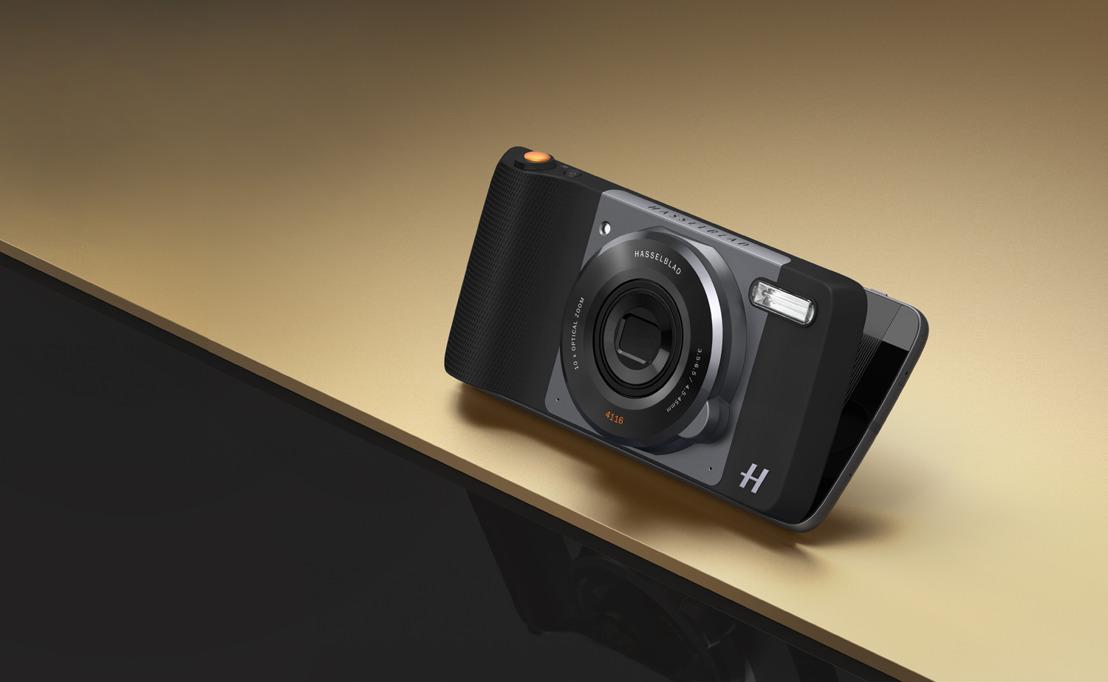 Lenovo lance le nouveau Moto Z Play et la caméra Hasselblad True Zoom Moto Mod