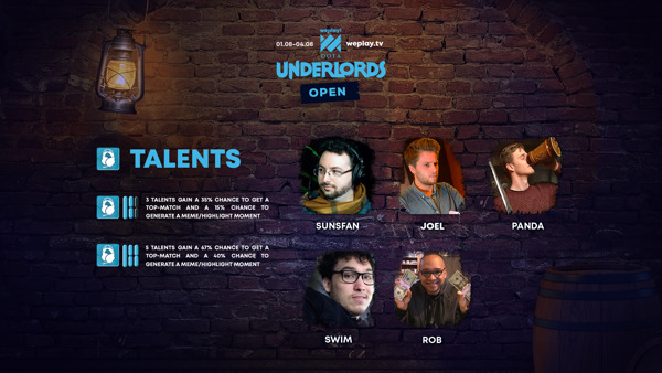 Preview: WePlay! Dota Underlords Open — English casters are announced