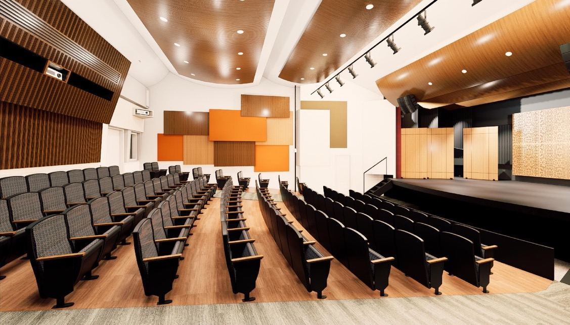 WSDG has designed the acoustics for a soon-to-be-completed theater in the Herb Alpert School For Music on the UCLA campus in Los Angeles