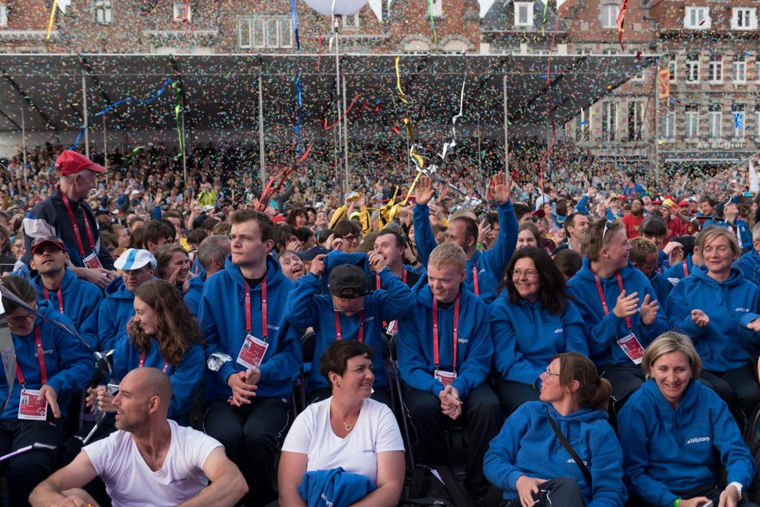 Media alert en persuitnodiging: De 36e editie van de Special Olympics Belgium Nationale Spelen is vandaag gestart!