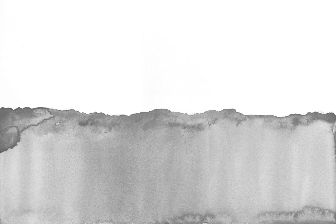 Grey Watercolour Wave