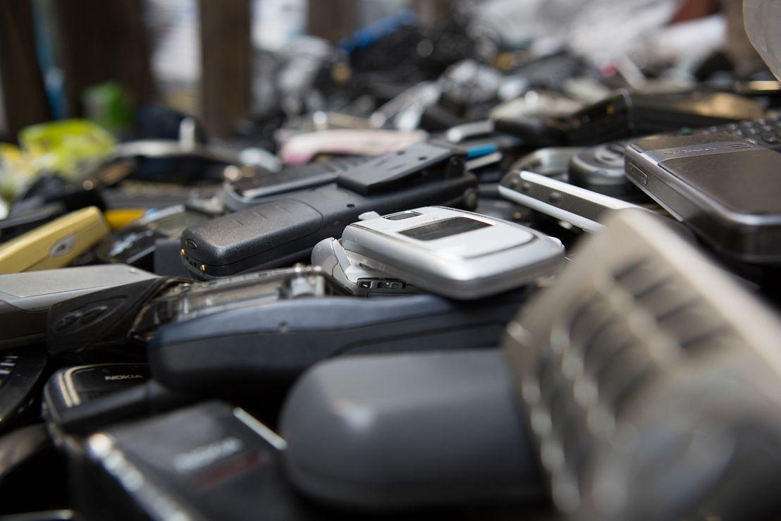Meer dan 50.000 ingezamelde gsm-toestellen en -laders