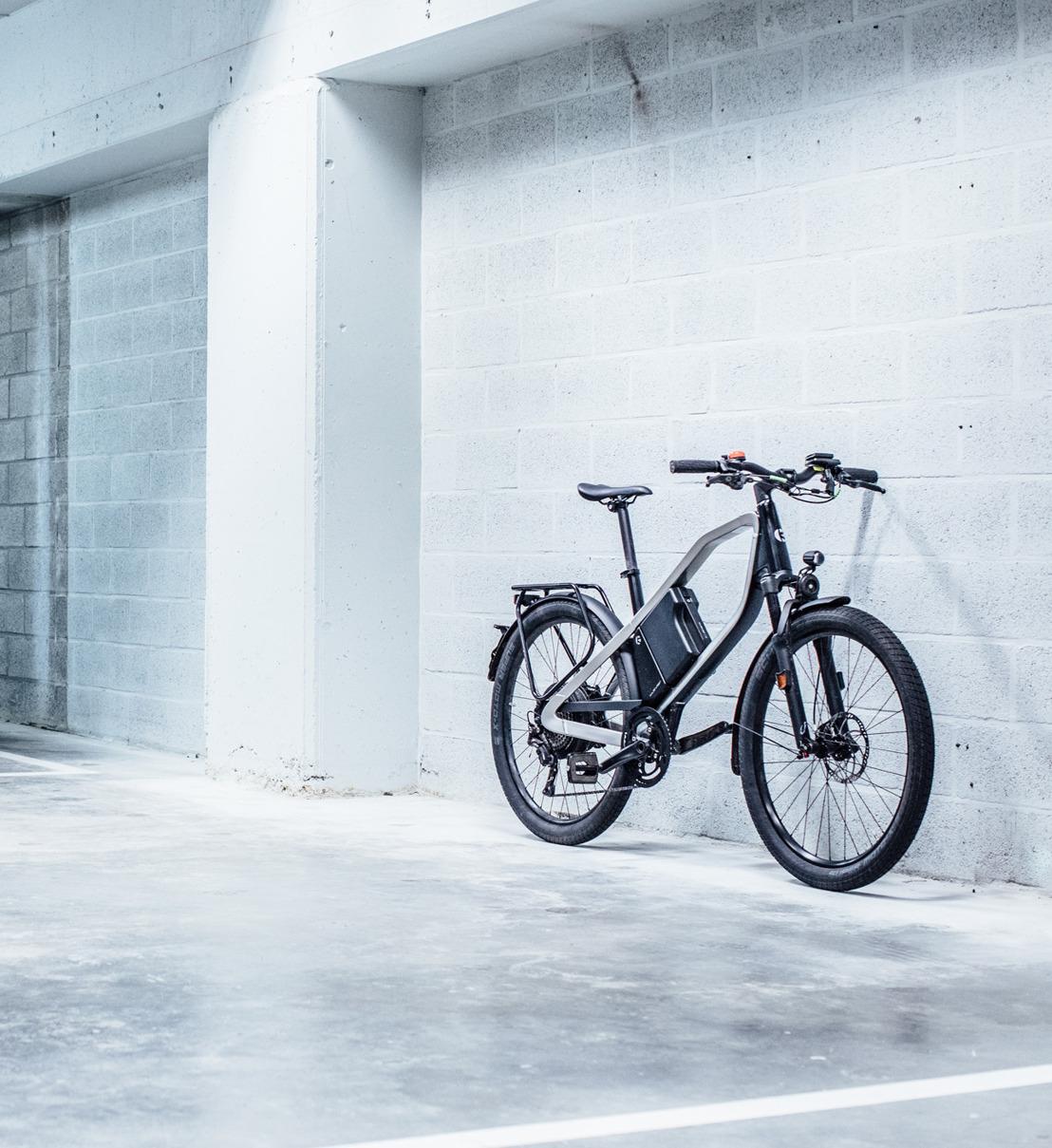 Volkswagen D'Ieteren Finance lanceert Bike-Moby, een financiële leasingformule voor fietsen