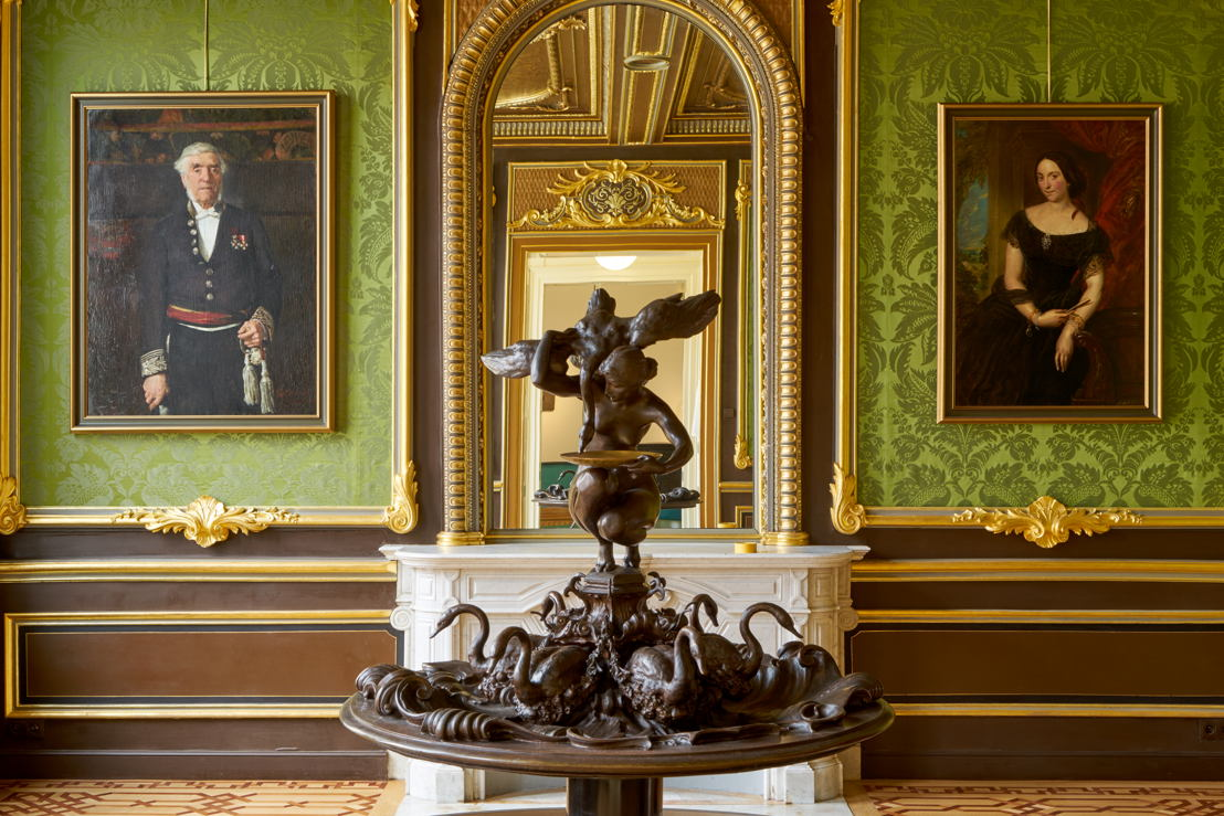Founding Fathers Leopold Vanderkelen en Maria Mertens in huis Vanderkelen; Foto (c) Dirk Pauwels