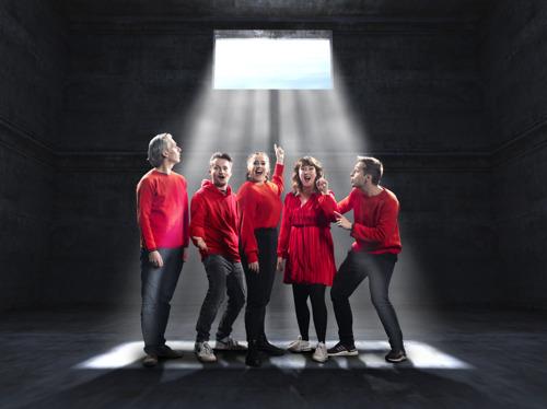 Sam, Inge, Wim, Maarten en Dorothee voor onbepaalde tijd opgesloten in Q-Escape Room