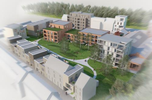 HERINNERING PERSUITNODIGING - Laatste bouwwerken WATT-site afgerond: officiële inhuldiging door burgemeester Mathias De Clercq