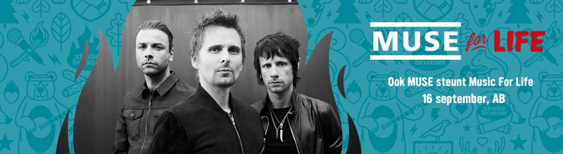 Music for Life: Muse speelt exclusief concert voor Artsen Zonder Grenzen