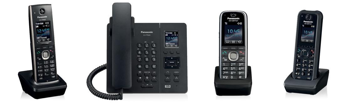 Terminales Panasonic para facilitar las comunicaciones unificadas