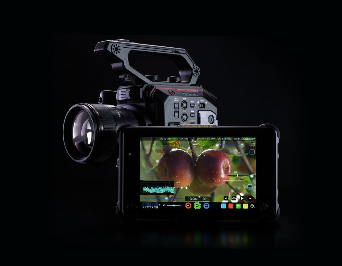Atomos ha anunciado que sus monitores/grabadoras Sumo y Shogun Inferno capturarán material RAW-a-ProRes directamente desde la EVA1 en 4K