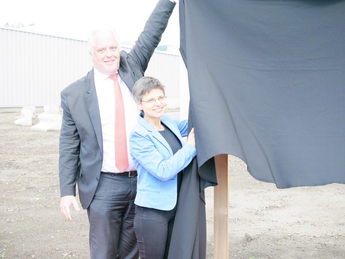 Trois nouvelles éoliennes dans la zone d'activité de Geel et Laakdal