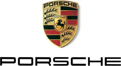 Porsche sala de prensa Logo