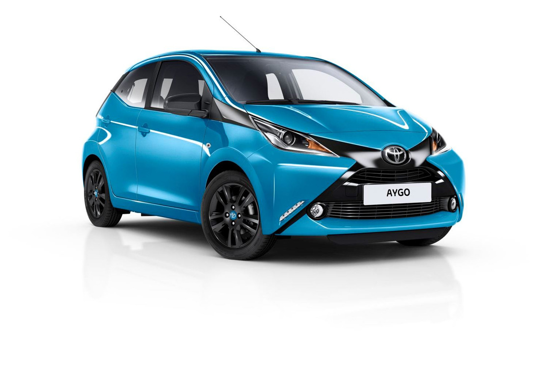 Nouvelle version x-cite et Toyota Safety Sense pour l'AYGO