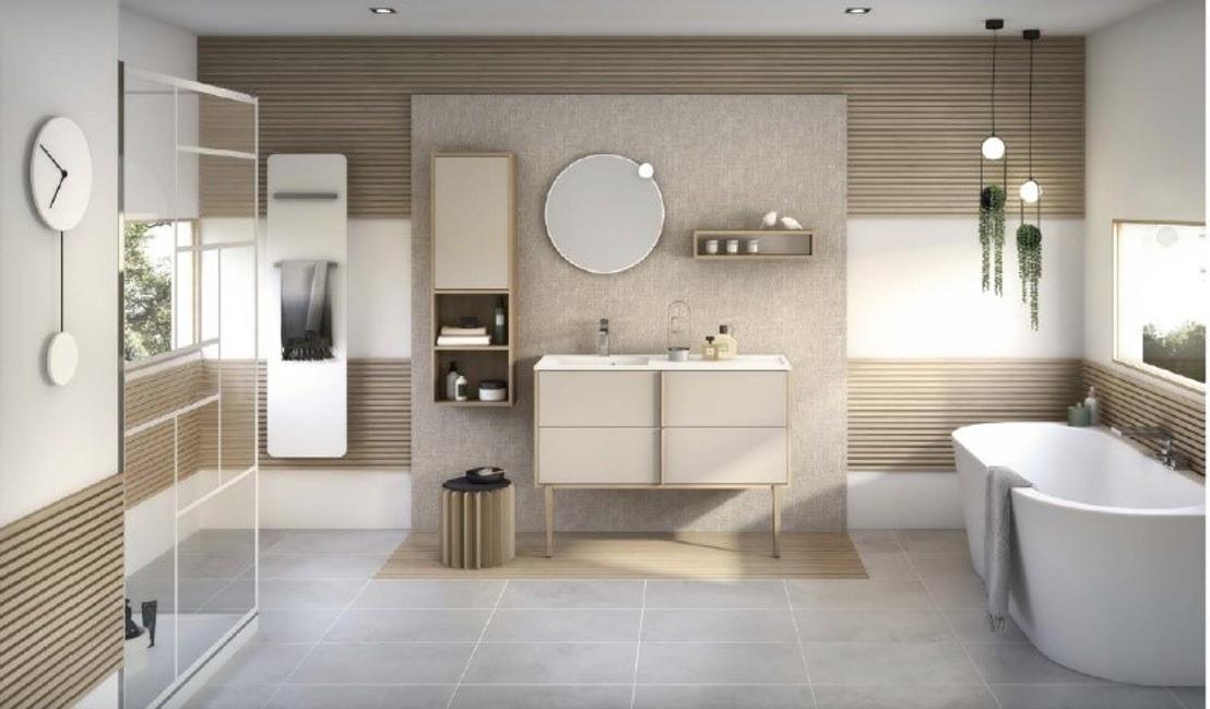 Cocooner dans sa salle de bains grâce à la nouvelle gamme Evasion de Delpha.