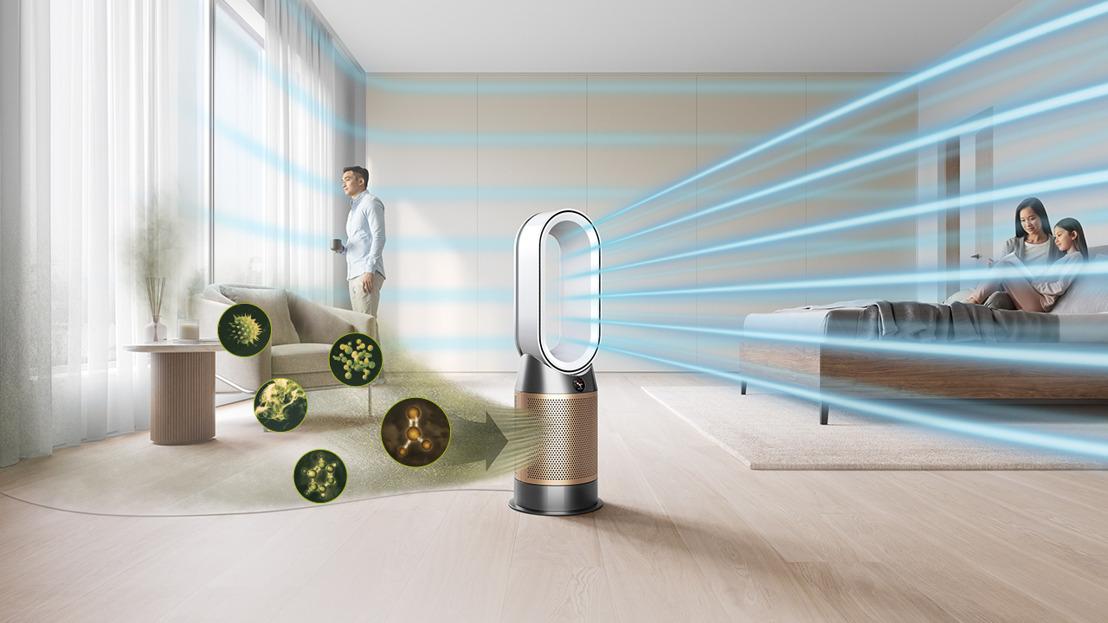 Dyson lanza nueva gama de purificadores de aire que eliminan el 99.97% de alérgenos, virus y ahora eliminan el formaldehído