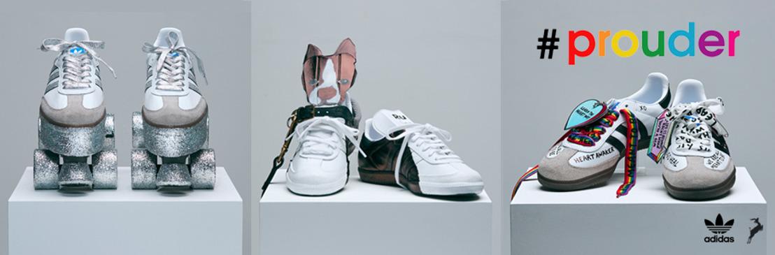 adidas 'Prouder': un llamado artístico a celebrar la unión, la originalidad y el orgullo.