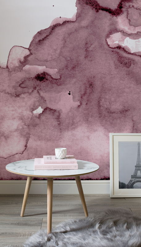 Pink Watercolour - Lifestyle