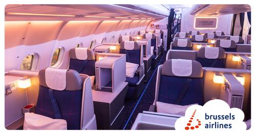 Brussels Airlines voor de tweede opeenvolgende keer bekroond als 'Beste Trans-Atlantische Luchtvaartmaatschappij'
