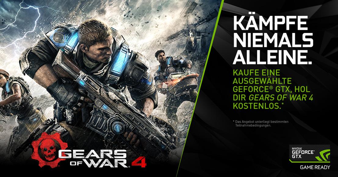 Gears of War 4 in 4K erleben – kostenlos mit NVIDIAs GeForce-GTX-Bundle