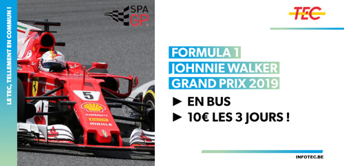 Formula 1 Johnnie Walker Belgian Grand prix 2019