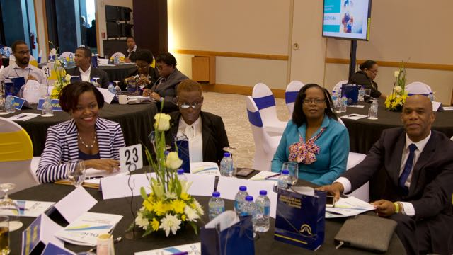 Regional education leaders and conference participants