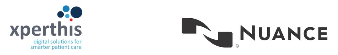 Xperthis combineert nieuwe EPD met spraakherkenning van Nuance
