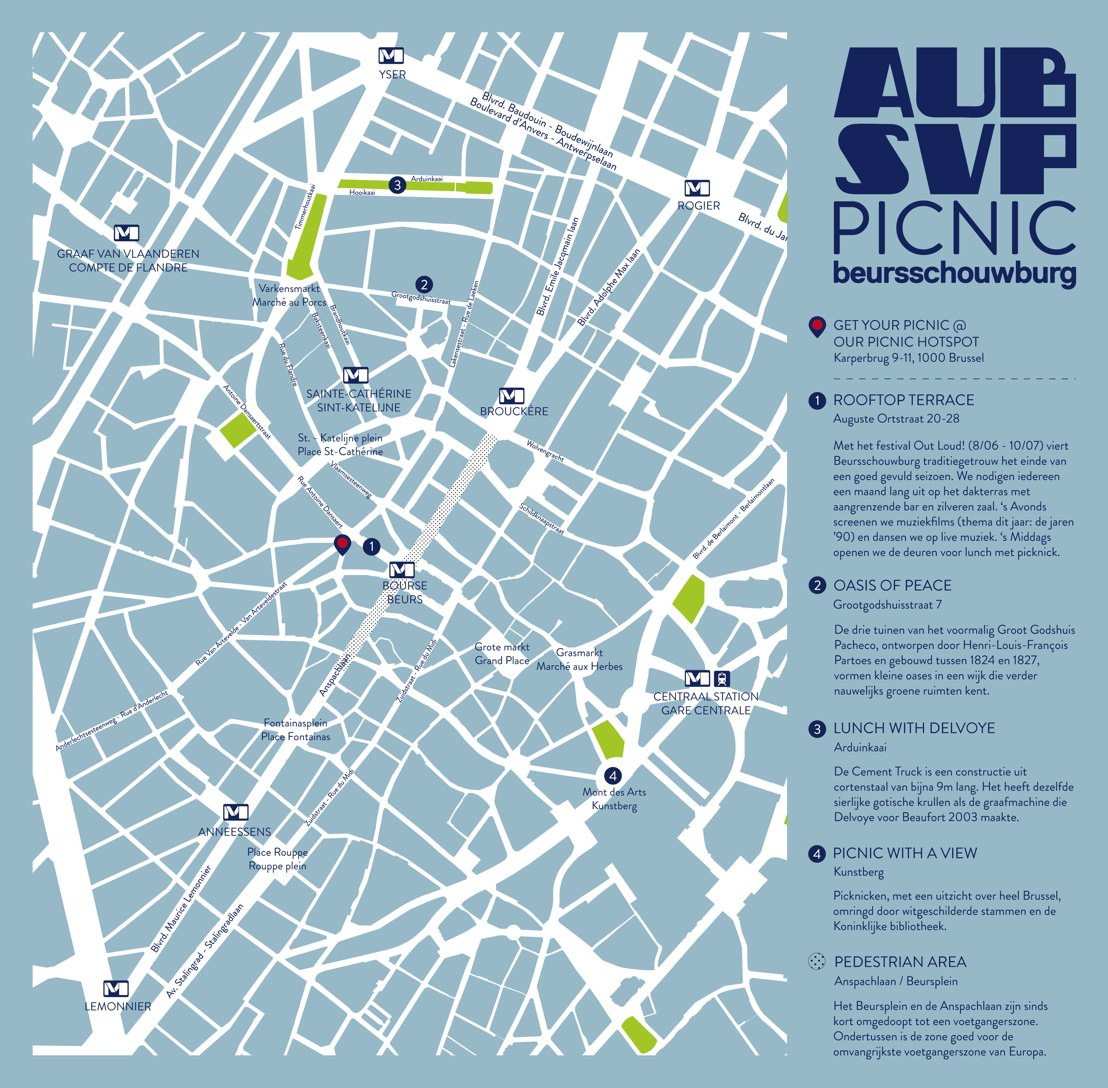 Plan PICNIC Bruxelles