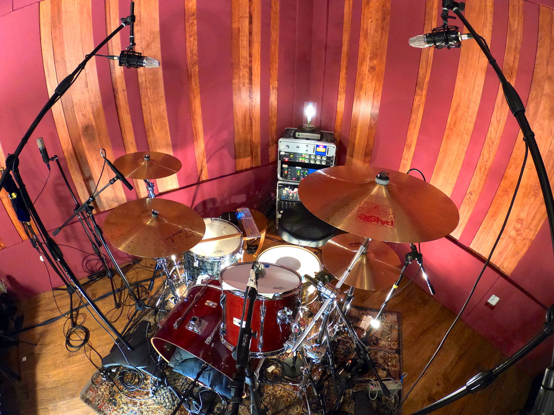 Top Line Touring Drummer Jake Hayden Goes 'All-In' to Create Home Studio with BAE Audio