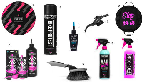 Highlights From Muc-Off's Bicycle Product Range