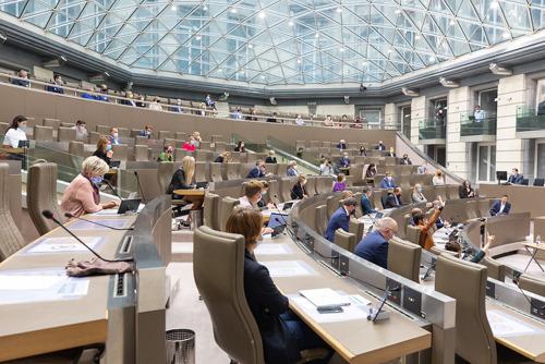 Actuele Vragen, Vlaams Parlement, woensdag 9 juni 2021, 14 uur
