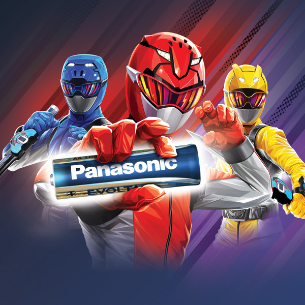 Preview: Panasonic and POWER RANGERS, the best choice for your toys in 2020