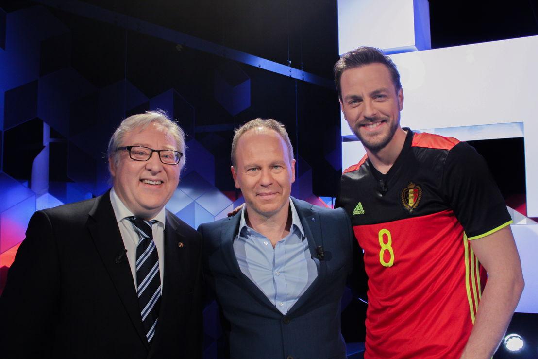 François De Keersmaecker en Guga Baúl op woensdag 8 juni in Blokken  (c) VRT