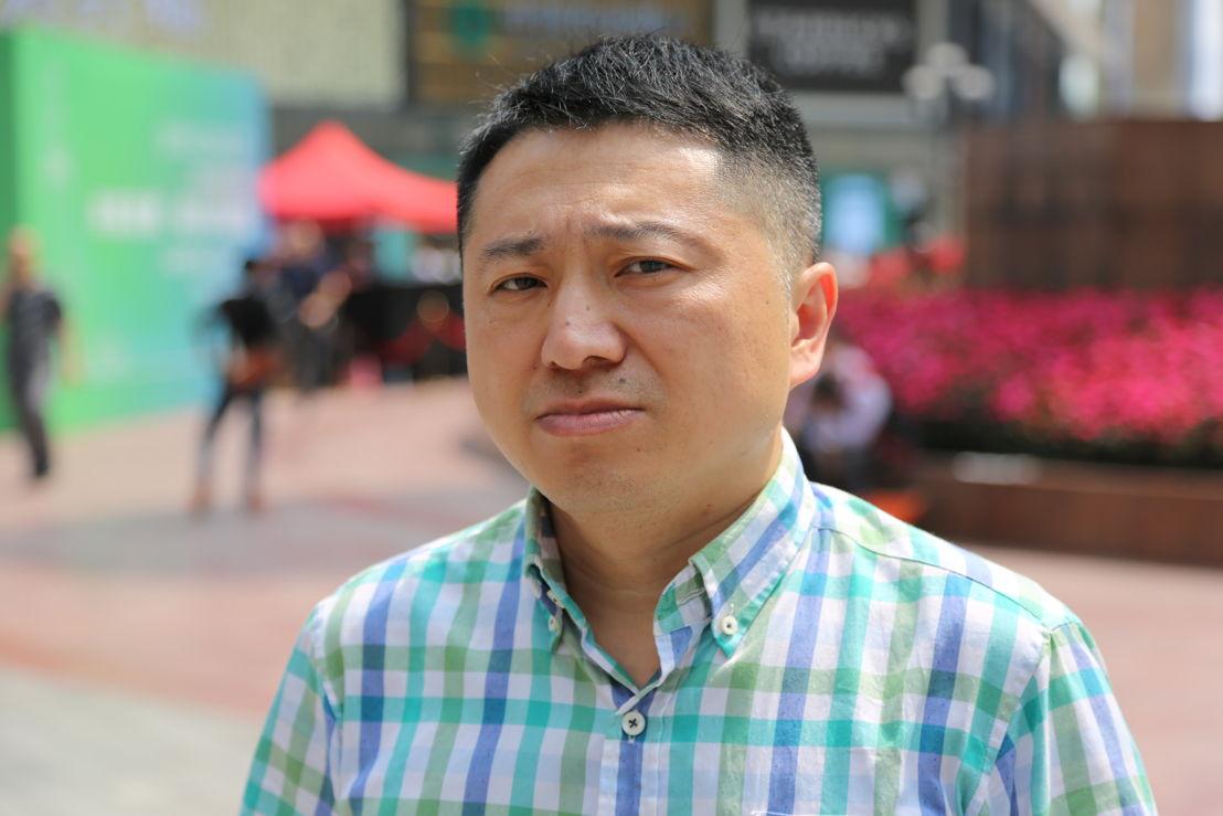 Journalist Liu Hu blacklisted on Social Credit after exposing corruption. Pic credit Brant Cumming