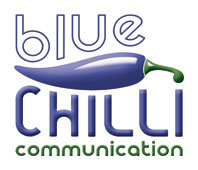 Blue Chilli press room Logo