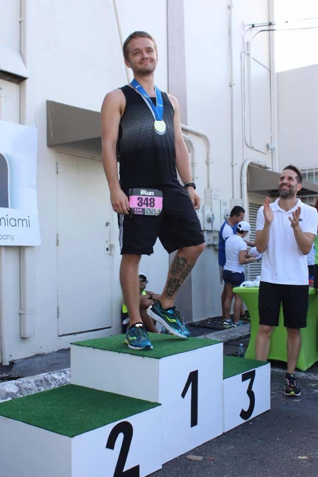 Matthew Dawson-Clarke, winner of long distance race not long befiore he died