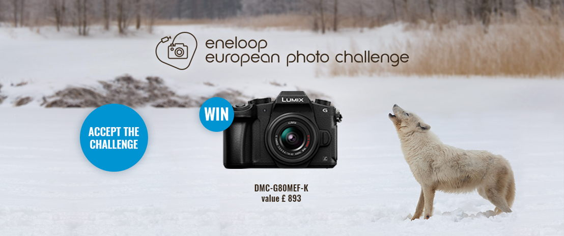 eneloop photo challenge - Header Communication