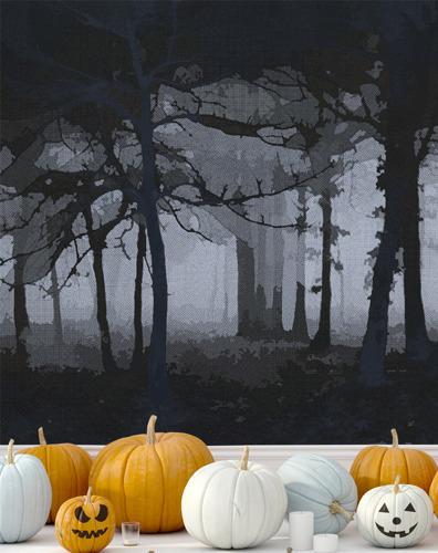 Gruslig Halloween-Wandbilder