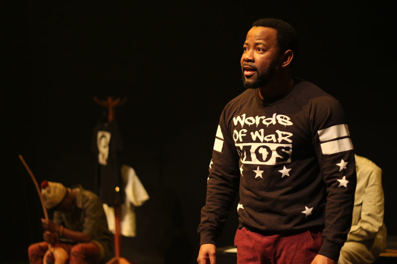 Words of War with Anele Rusi - credit Sithembele Jnr