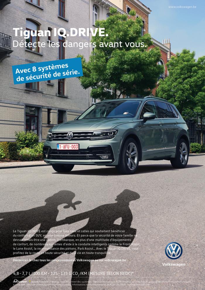 Volkswagen et DDB détectent les dangers de la route avant vous