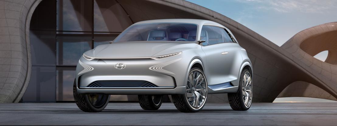 Hyundai Motor dévoile son concept de la prochaine génération de véhicules à piles à combustible au Salon international de l'Automobile de Genève