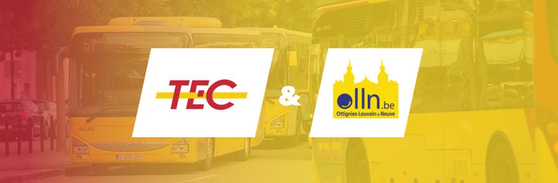 Le service TEC à la demande débute aujourd'hui à Louvain-la-Neuve !