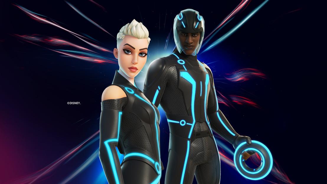 Los atuendos de Tron llegan a Fortnite