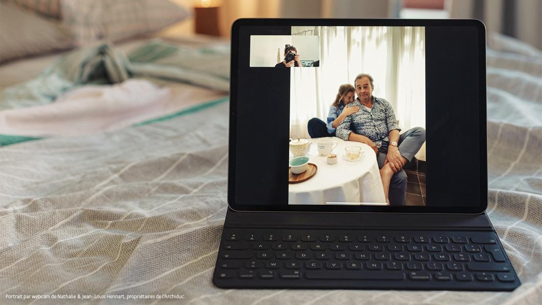 #FaireFaceEnsemble : pour encourager vos héros du confinement, offrez-leur un portrait pris en webcam par le photographe Jef Boes