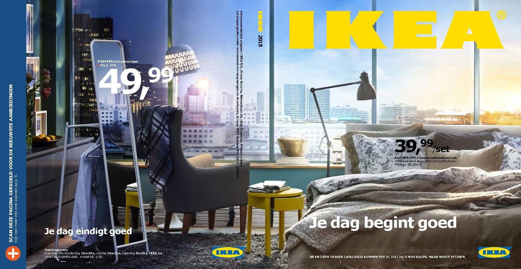 Ikea Slaapkamer Prijs : De nieuwe ikea catalogus 2015 brengt een ode aan de slaapkamer en de