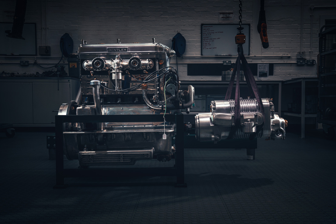 BRINGING THE PAST TO LIFE: BENTLEY STARTS ASSEMBLY OF 'BLOWER CONTINUATION SERIES' PROTOTYPE