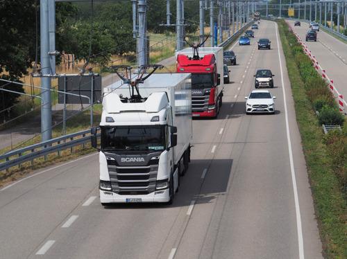 Début du troisième essai en conditions réelles de l'eHighway en Allemagne