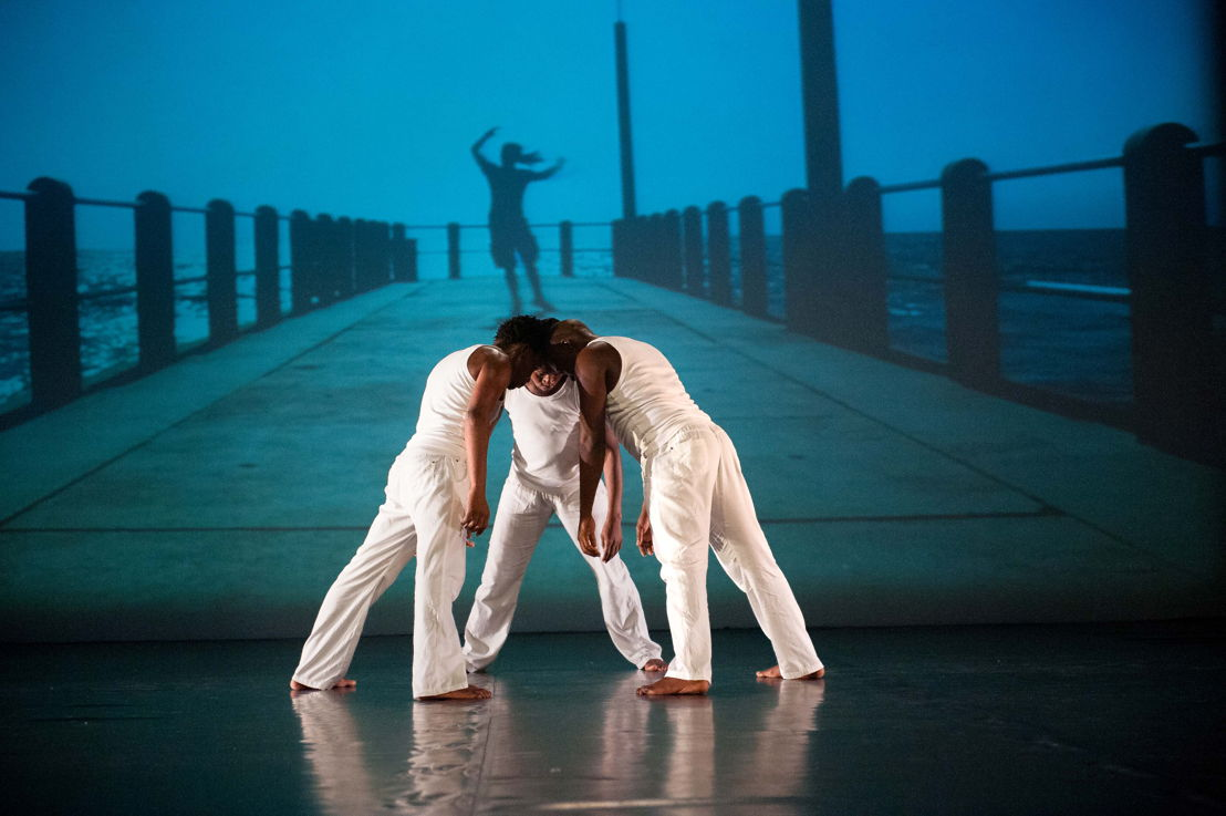 Days Like these by Flatfoot Dance Co - Sifiso Khumalo, Sanele Maphumulo, Sifiso Majol - credit Val Adamson