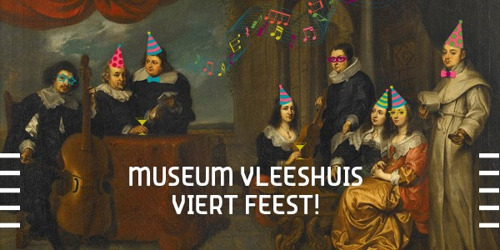 Museum Vleeshuis viert opfrissing met feest op 8 april