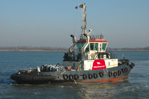 A new world first for Port of Antwerp – a methanol-powered tugboat