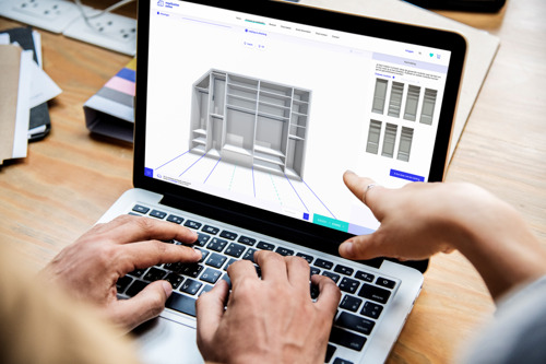 Belgische maatkastenpionier verovert de interieurmarkt met 3D-visualisatiemodel