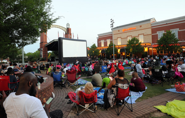 Movies Under the Stars at Mall of Georgia